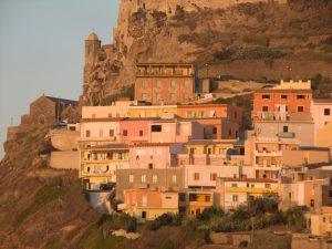 "Figure 3. Sardinian ""yellow"" (i.e., SARI in Turkish) houses."